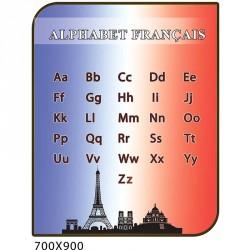 Cтенд франция алфавит