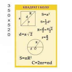 Стенд квадрат и круг