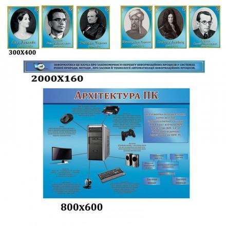 Комплекс стендов в кабинет информатики