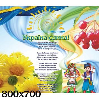 Стенд символи України