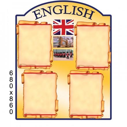 Стенд с английского языка