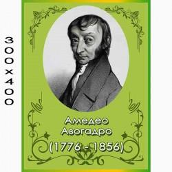 Стенд известная личность Авогадро
