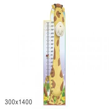 Стенд ростомер жираф