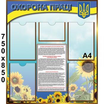 Плакат вступний інструктаж з охорони праці (5563)